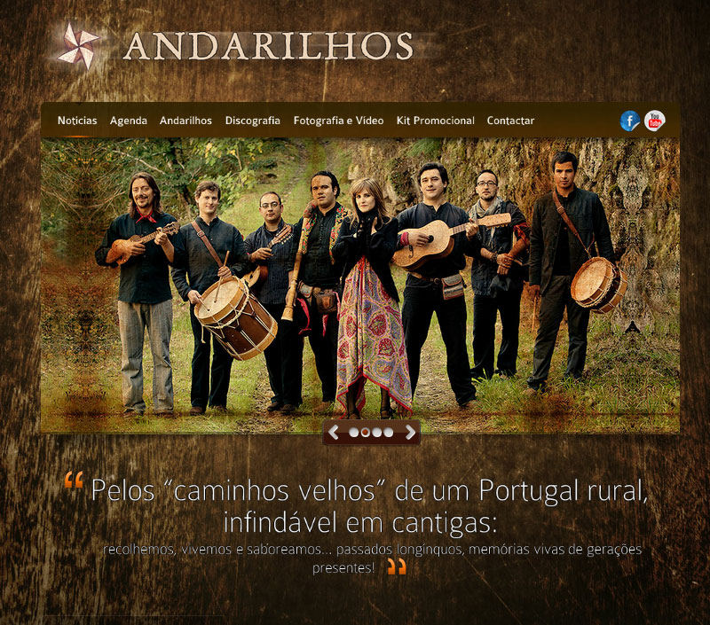 ::ANDARILHOS - WEBSITE::